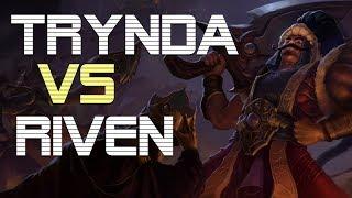 [ITA-GUIDA] Tryndamere vs Riven toplane - League of Legends - Climb to Plat