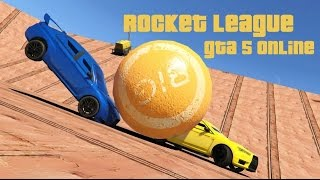 Rocket League à Gta 5 (Version 2)