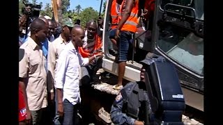 VIDEO: Haiti Caravane Changement - President Jovenel Visits Artibonite Region