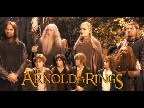 [DEEPFAKE] THE ARNOLD OF THE RINGS