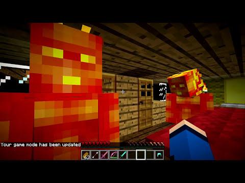 Minecraft Mods - MORPH HIDE AND SEEK - QUARTETO FANTÁSTICO MOD!
