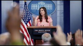 Sarah Sanders White House Press Briefing Gaggle 6-22-17