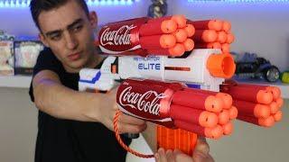 NERF WAR: COKE NERF GUN MOD
