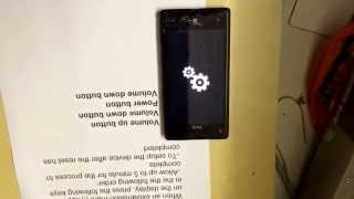 Htc window phone 8x Hard Reset