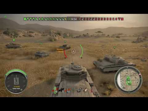 World Of Tanks Xbox One Caernarvon double MVP feature