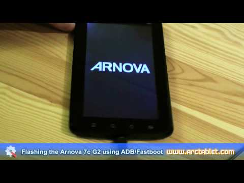 Android Market on the Arnova 7c G2 - Firmware flashing using ADB/fastboot