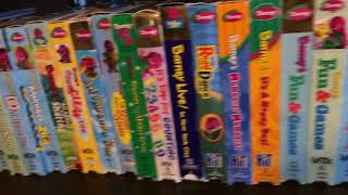 My Barney VHS/DVD Collection Part 1