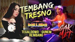 TEMBANG TRESNO - CREW RAMAYANA Goyang dengan Sendirinya - Kendang Cak Met New Pallapa