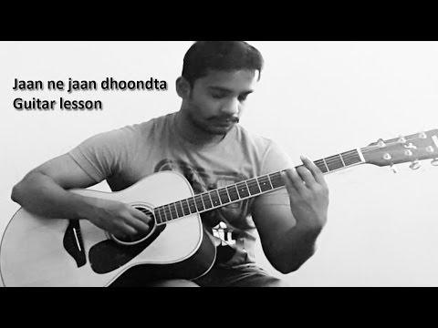 Jaan ne jaan dhoondta Guitar lesson - jawani diwani (1972) -...