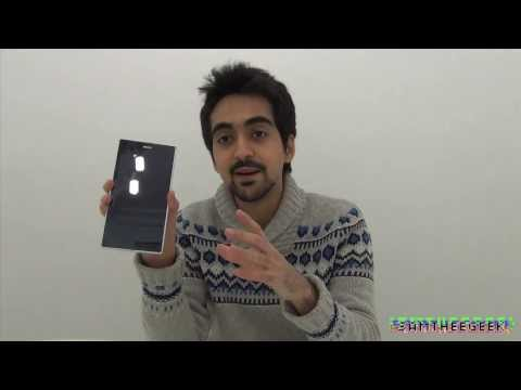 Sony Xperia Z Ultra White Unboxing