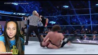 WWE Smackdown 9/27/16 AJ Styles vs Dean Ambrose
