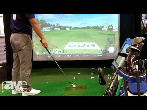 CEDIA 2016: Golfzon Demos Golf Simulator With Hydrolic Plate