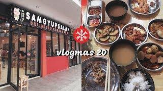 VLOGMAS20: Try natin SAMGYUPSALAN sa Gen T! Masarap at SULIT ba!?