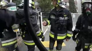 Simulazione Antincendio Scuola - Vigili del Fuoco - [GoPro Hero]