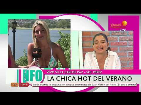 """Sol Pérez: """"Yo patenté la chica del clima"""" thumbnail"""