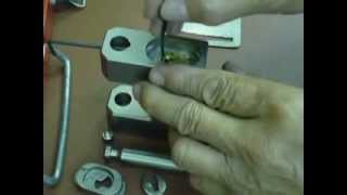 Cisa 285-84 padlock (repinning procedure)