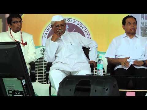 Sainik School Bijapur -Shri  Siddaramaiah, Chief Minister's address