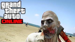 GTA ONLINE - Apocalipsis Zombie Con Un Traidor