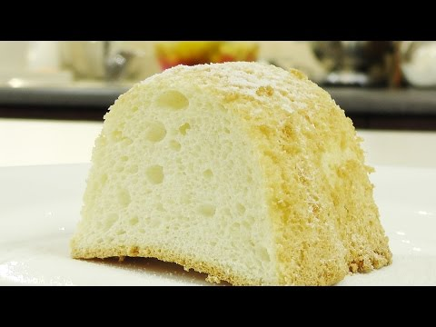 Бисквит на белках видео рецепт