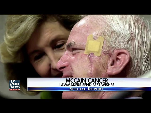 Sen. John McCain receives bipartisan outpouring of support