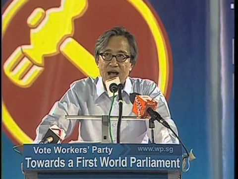 WP's Chen Show Mao at Aljunied GRC rally, April 29
