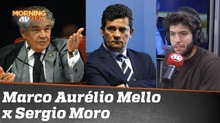 Marco Aurélio Mello não quer Sergio Moro como ministro do STF