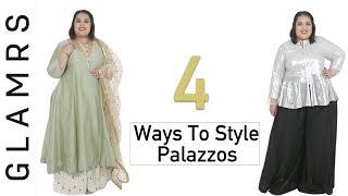 4 Stylish Ways To Style Palazzo Pants | Plus Size Fashion Series!