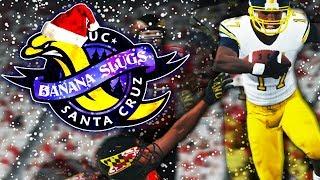 JT HALL DEBUTS IN EPIC SNOW STORM! | NCAA 14 Banana Slugs Dynasty Ep. 57