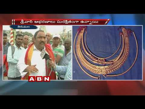 TTD Board Member Sandra venkata veeraiah Face To Face Over Srivari Jewellery Controversy