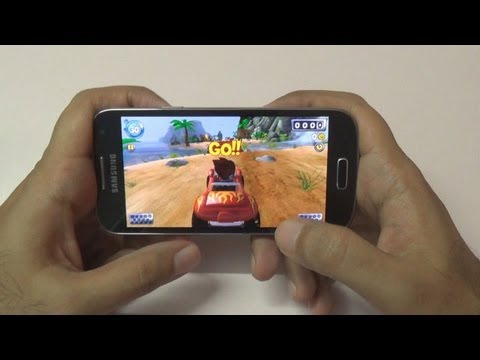 Samsung Galaxy S4 Mini Gaming Review Part 1 Casual Games