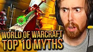 Asmongold Can't Believe The Top 10 Myths of World of Warcraft - MadSeasonShow