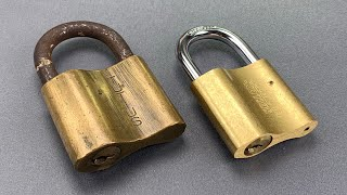 [961] Then & Now: Hungarian Elzett Padlocks Made 60 Years Apart