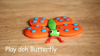 Play Doh Butterfly