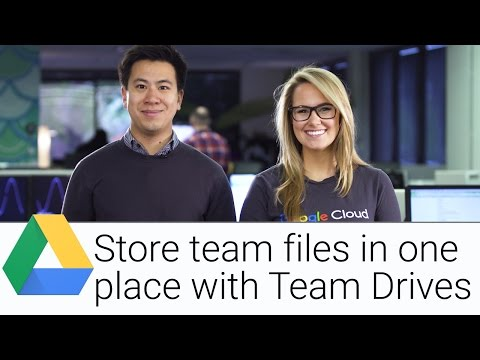 Collaborate and Store Files with Team Drive | The G Suite Show