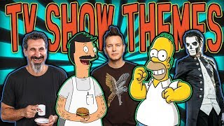If Rock Bands Wrote TV Show Themes