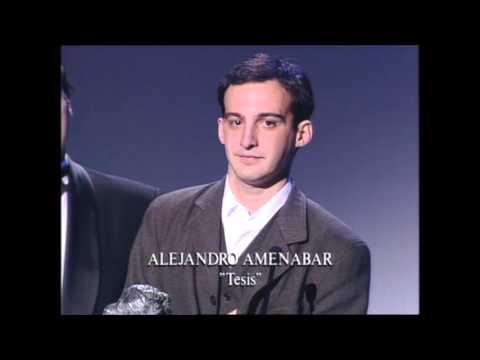 Alejandro Amenábar gana el Goya a Mejor Dirección Novel en 1997