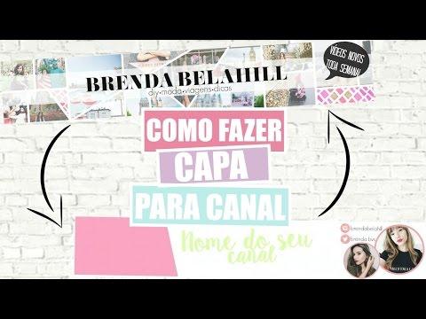 Como Fazer Capa para seu Canal no Youtube | FÁCIL! thumbnail