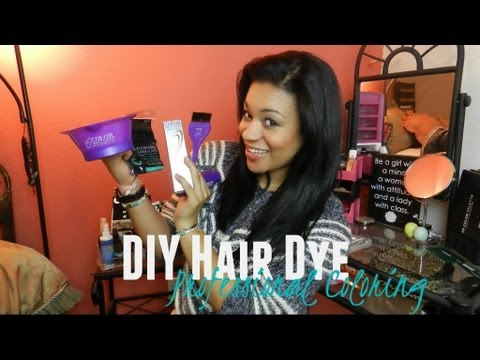 DIY Professional Hair Dyeing
