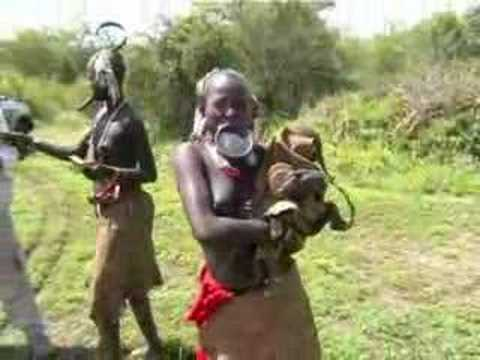 Ethiopia - Mursi Tribe video