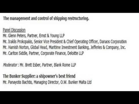 The management and Control of shipping restructuring