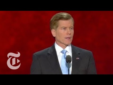 Election 2012   Gov. Bob McDonnell of Virginia Interview   The New York Times