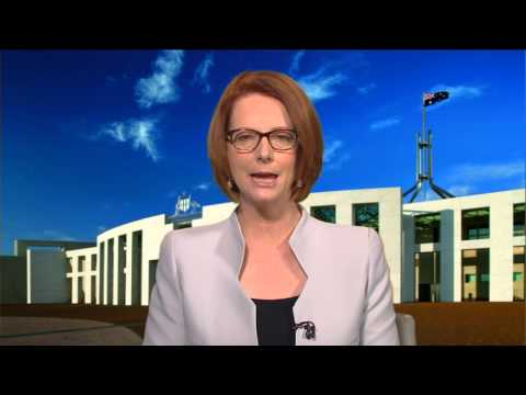 Hon Julia Gillard PM - One Billion Rising Message