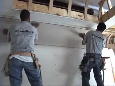 How To Drywall A Cove Ceiling Youtube
