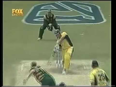 The day cricket was ruined in Australia- Shane Watson debuts in 2001/02