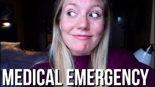 The Flight Attendant Life | Medical Emergency + Being The Lead Flight Attendant
