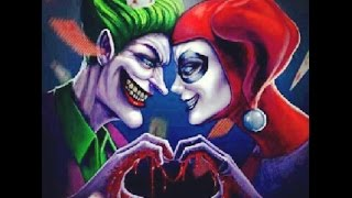Joker x Harley cartoon xxxx