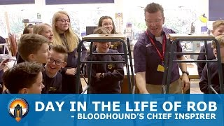 A day in the life of BLOODHOUND's Chief Inspirer