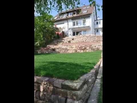 Anleitung Zum Garten Bauen Mit Hochwertigen Gebrauchten Natursteinen  Www.schradi-gartenbau.de