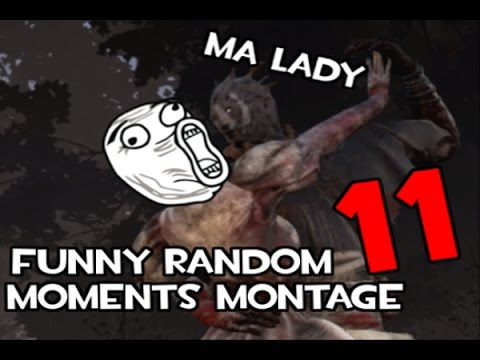 Dead by Daylight funny random moments montage 11