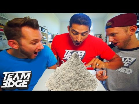 EPIC FLOUR TOWER CHALLENGE!!